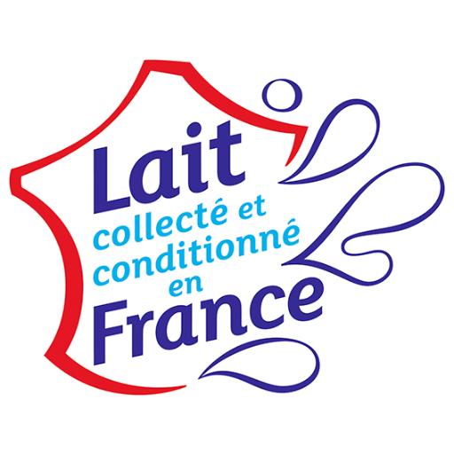 Le logo Lait collecté et conditionné en France